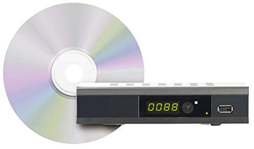auvisio HD Kabel Receiver: Upgrade-CD zur Aktivierung der Aufnahmefunktion bei DCR.100.fhd (Kabeltuner)
