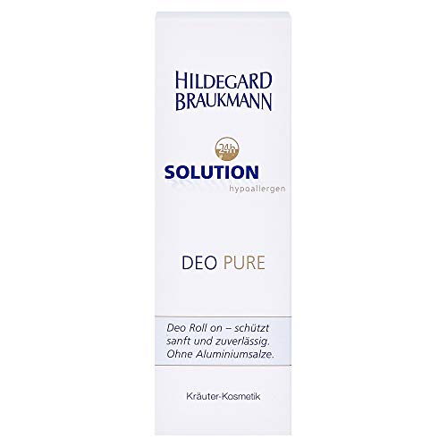 Hildegard Braukmann 24 h Solution Hypoallergen Deo Pure, 75 ml