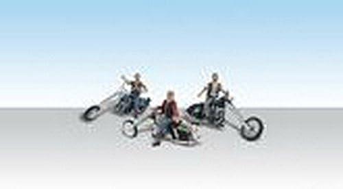 a la venta Woodland Scenics HO Bad Bad Bad Boy Bikers WOOAS5554 by Woodland Scenics  los nuevos estilos calientes