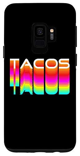 Galaxy S9 Tacos Food Comida Mexican Fiesta Cinco de Mayo Serape Tacos Case