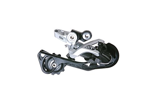 Shimano Deore XT RD-M781 Shadow Schaltwerk 10-fach Direktmontage silber Ausführung langer Käfig, 11-36 Zähne 2016 Mountainbike