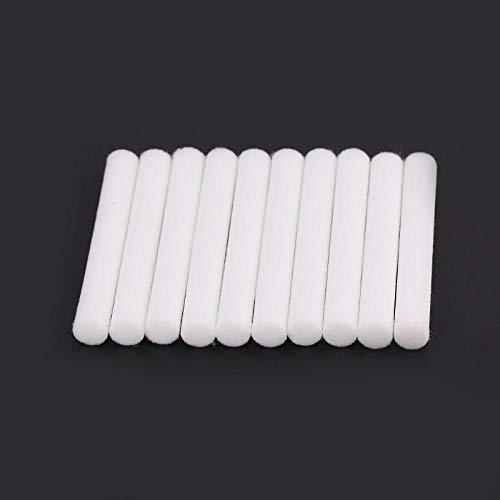 10pcs 8mmx64mm Air Humidifiers Filters Cotton Swab for Air Ultrasonic Humidifier