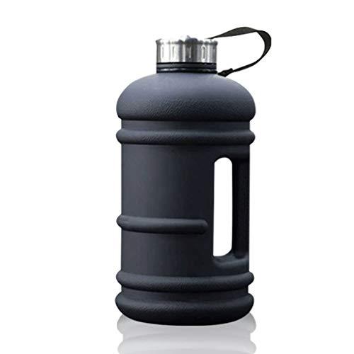 Deportes de botella de agua Botella Deporte de agua - BPA del jarro de agua de 2,2 litros de boca ancha de gimnasio Bebidas Botella for el gimnasio de culturismo deportes al aire libre Deportes de bot