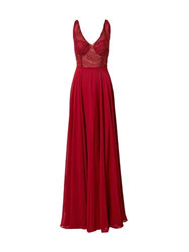 STAR NIGHT Damen Abendkleid rot 40