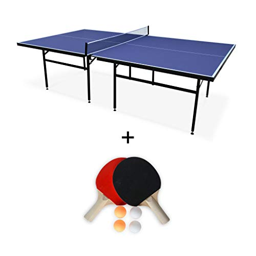 Alice's Garden - Table de ping Pong Indoor Bleue Nagano- Table avec 2...