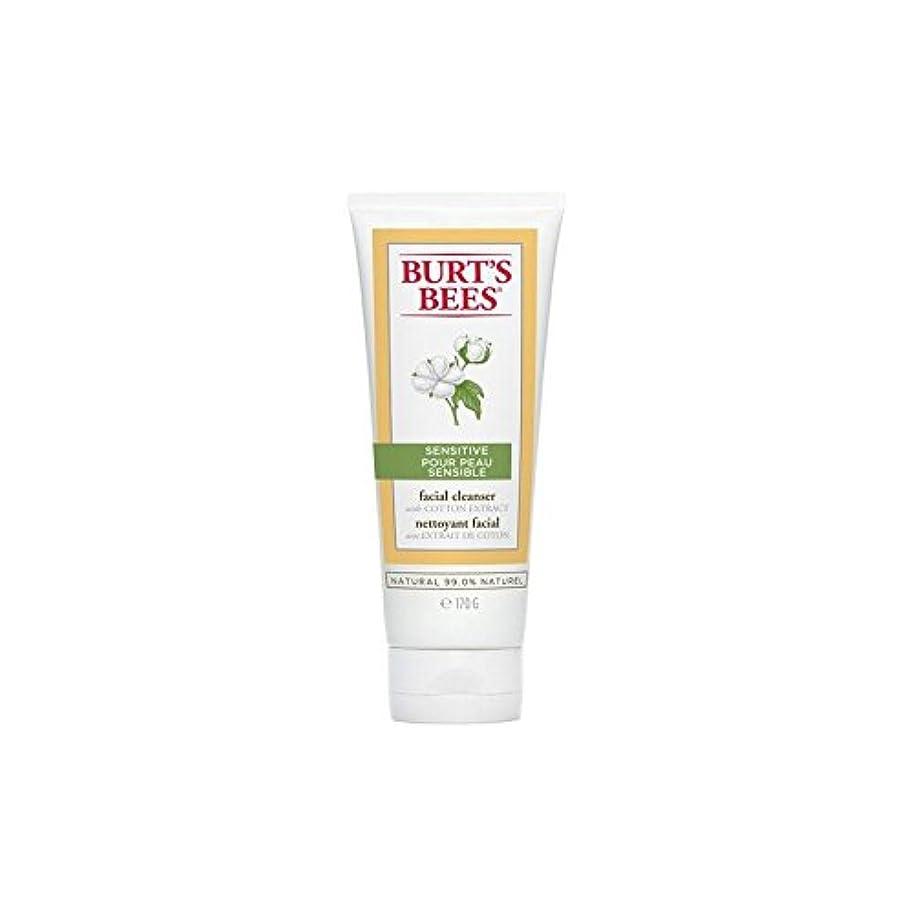 偽パトワ一方、Burt's Bees Sensitive Facial Cleanser 170G (Pack of 6) - バーツビー敏感な洗顔料の170グラム x6 [並行輸入品]