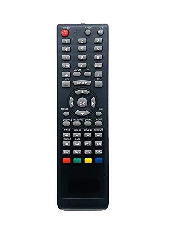 EHOP Compatible Remote Control for for Lloyd/INTEX/Star/FUTEC/BPL Genus/VU LED TV LED 18-09...