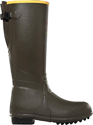 LaCrosse Men's 266075 Burly Air Grip 800G Insulated Utility Boot, Forest Green - 11 M US