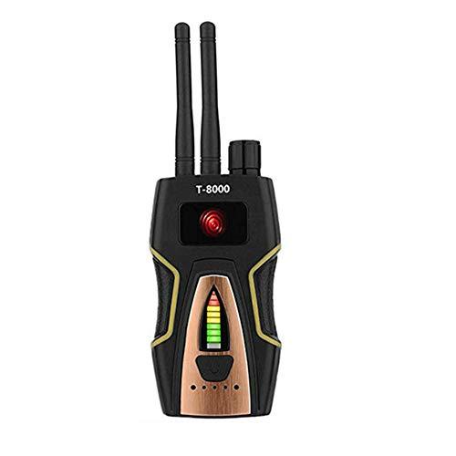 Winnes GPS Detector Hidden Camera Lens Laser GSM Listening Device Finder Radar Radio Scanner, segnale wireless AlarmYA10099 (d oro)