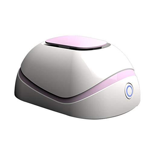SWRZ Purificador de Aire para el hogar, Limpiador de Aire silencioso, ionizador de Aire portátil, Molde de Polvo de olores para Polen de Humo, Mascotas, Cable USB para el Cabello