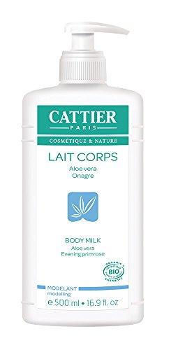 Cattier Lait Modelant Aloe Vera Onagre 500 ml