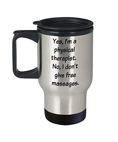 Taza terapeuta física divertida regalo terapia física