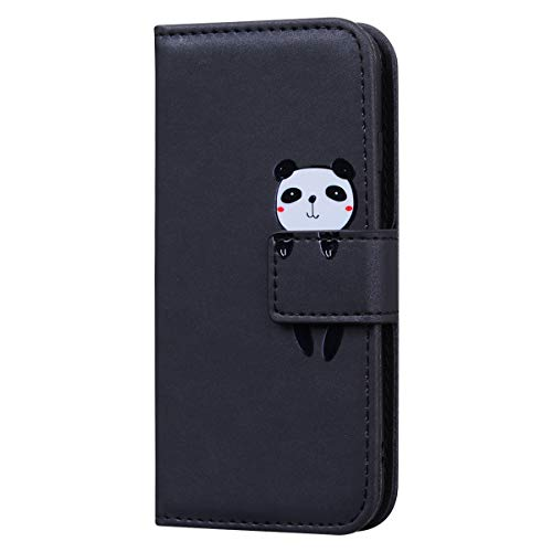 WANYINGLIN Girl Colorful Magnet Wallet für Xiaomi Redmi Note 9 Pro,Modisch Bookstyle Leather Stand Funktion Flip Leder Hülle Cover 3D Rose Cartoon Totem
