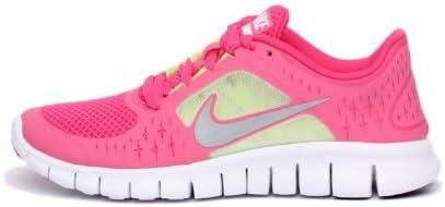 Nike Free Run 3 (GS) Big Kids Running Shoes 512098-600 Spark 7 M US
