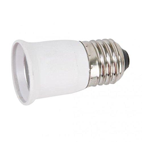 gazechimp 5 Piezas E27 a E27 Bombilla de Enchufe de Luz Amplificador de Lámpara Adaptador Extensor de Adaptador
