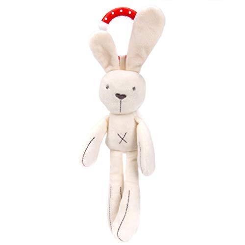 Sensitiveliu Animal Colgante Campana bebé Cuna Cochecito Juguete Conejo Conejo Oso Suave Felpa muñeca Infantil Cama móvil Cochecito Chico Animal Campana Colgante