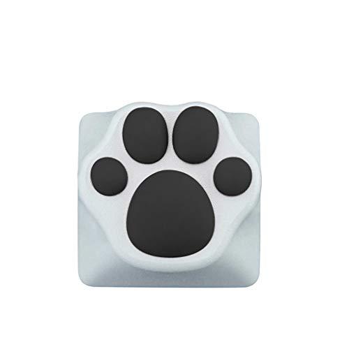 planuuik Persoonlijkheid Aangepaste ABS Siliconen Kitty Paw Artisan Cat Paws Pad Toetsenbord KeyCaps voor Cherry MX Schakelaars