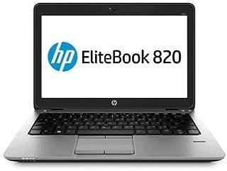 HP EliteBook 820 G2 Core i5-5300U 12.5in 8GB 240Gb SSD WiFi WIN10P Laptop (Renewed)