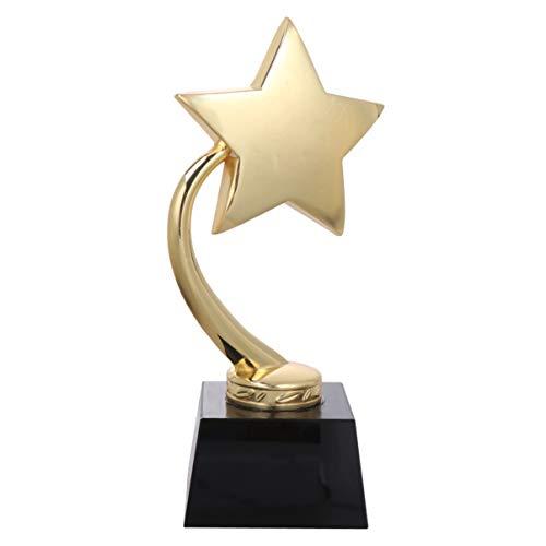 BESPORTBLE Trofeo Deportivo Copas Trofeo Estrella Ganador Premios Premios Regalos de Fiesta Favores para Niños Torneos Deportivos Competiciones Fiestas