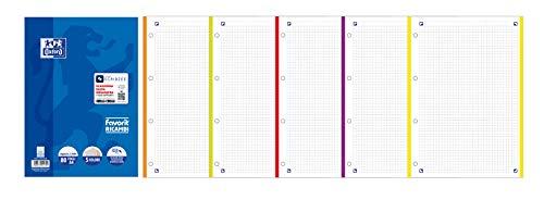Favorit 400108158 - Ricambio per Maxi Quaderno A Quadretti, , Assortiti