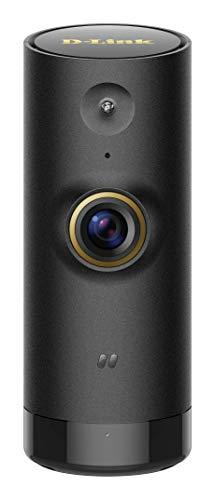 D-Link DCS-P6000LH – Cámara IP WiFi de vigilancia con acceso desde móviles,  grabación de vídeo en la nube y en el móvil, HD 720p, H.264, compatible iOS/Android, visión nocturna por infrarrojos, negro