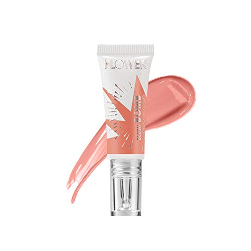 FLOWER BEAUTY Blush Bomb Color Drops for Cheeks | Liquid Gel Cream Blusher Makeup | Multiple Beauty Awards | Lightweight Radiance (Pinched)
