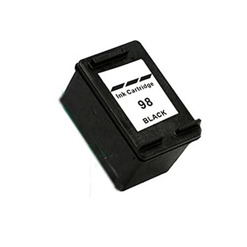 Cartucho de tóner Compatible para HP 98XL 95XL Reemplazo para HP Photosmart C4100 C4110 C4140 C4183 C4188 D5160 2570 2575 2575V 2575XI Tóner de Tinta de la Impresora Black