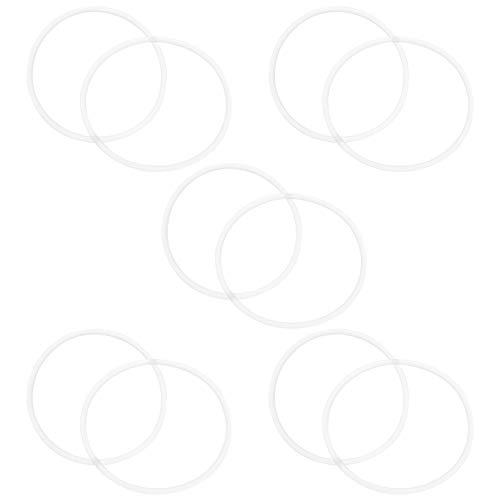 Balacoo Junta Tórica de Repuesto - 10 Piezas de La Carcasa del Filtro de Agua Juego de Surtido de Arandelas de Juntas Juego de Anillos de Sellado