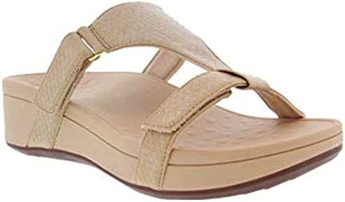 Vionic Women s Pacific Ellie Wedge Sandals Ladies Casual Sneakers with Concealed Orthotic Arch product image