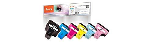 Peach Spar Pack Tintenpatronen kompatibel zu HP No. 363