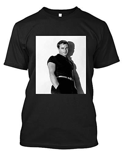 DansTee #Marlon #Brando #Cool #1950'S T Shirt Gift Tee for Men Women Black