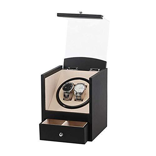 Watch Winder Shake Tischgerät Elektrische Uhrenbox Schwarz PU Automatikaufzug Uhrenbox Elektrobox Motorbox Elektrische Uhrenbox Shaker Geeignet für High-End-Uhren