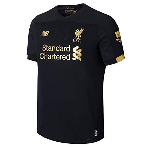 New Balance Junior International Soccer 2019-2020 Goalkeeper Short Sleeve Jersey Liverpool F.C., Home, Medium