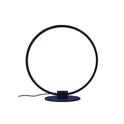 Kfhfhsdgsactd Lámpara Mesilla Noche, RGB Lámpara de Mesa Redonda de la Barra de la Barra de Colores de la lámpara de la lámpara de la lámpara de la Noche la lámpara de la Mesa de Hierro Forjado
