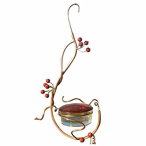 Pumprout Bird Feeder Courtyard Bird Feeder Rote Beeren Kolibri Bird Feeder Blumeiseninjektor Zubehör Feeder Long Type