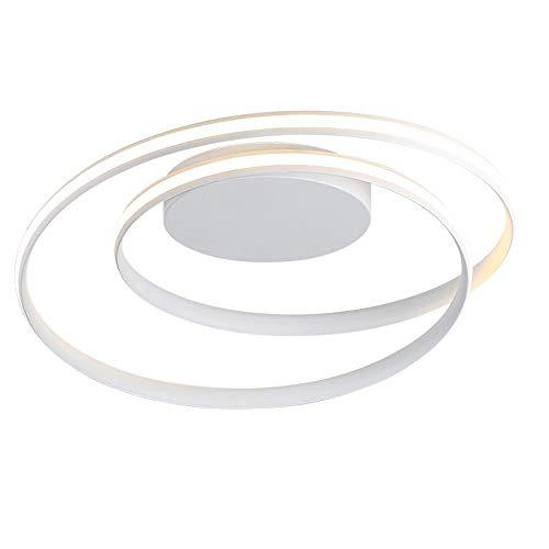 XDDJJZHX Lámparas de Techo LED Modernas para Sala de Estar, Dormitorio, Comedor, luminarias, lámparas de Techo Blancas, Accesorios