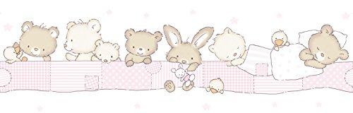 Dandino Infantile Grenze der Tiere, Pink