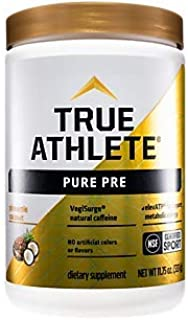Pure PreWorkout with VegiSurge and elevATP to Support metabolic Energy Pineapple Coconut (11.75 oz. / 30 Servings)