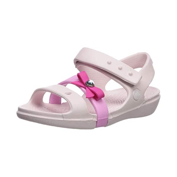 Crocs Kids' Girls Keeley Charm Sandal