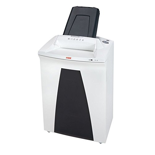 Save %50 Now! HSM HSM2105 SECURIO AF500 L5 Cross-Cut Shredder with Automatic Paper Feed; Shreds up t...