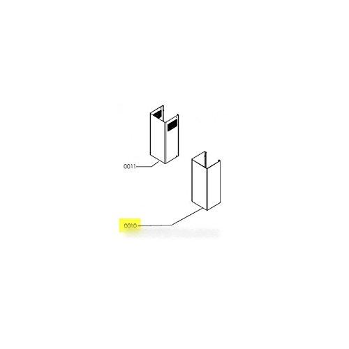 IKEA–Kamin Edelstahl Teil Inferieure für Dunstabzugshaube IKEA