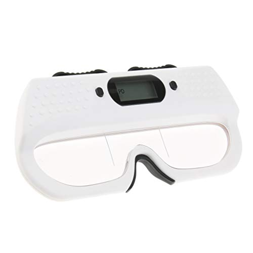 IPOTCH Digitales PD Lineal Optische Pupillendistanz Messgerät Optometrie Equipment mit LCD-Display, ca. 17 x 2,2 x 8 cm