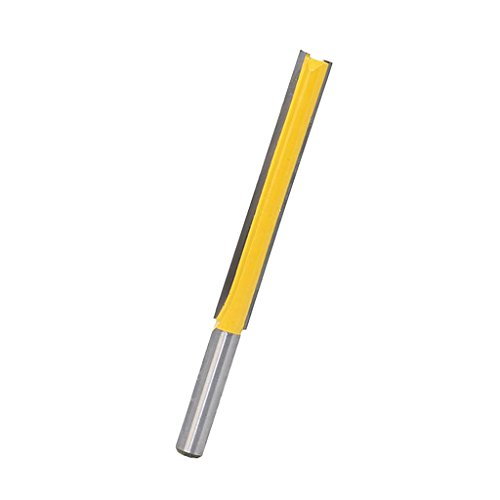 MagiDeal Fräser Nutfräser 8mm, Holzfräser, Langer Schnittlänge - 76,2 mm