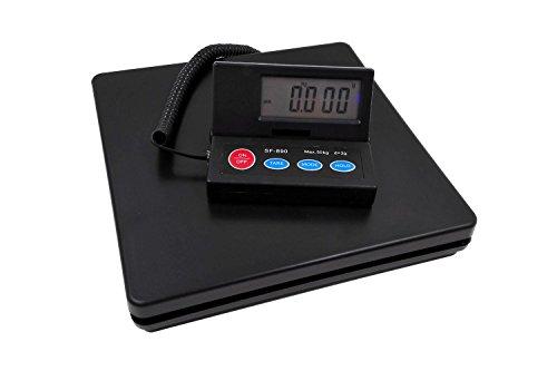 2g単位で、最大50kgまで計量可能、隔測式 デジタル台はかり スケール 電子秤 風袋機能、オートオフ機能