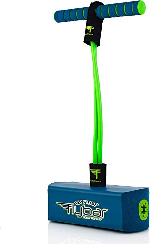 Flybar My First Foam Pogo Jumper for Kids Fun and Safe Pogo Stick, Durable Foam and Bungee Jumper...