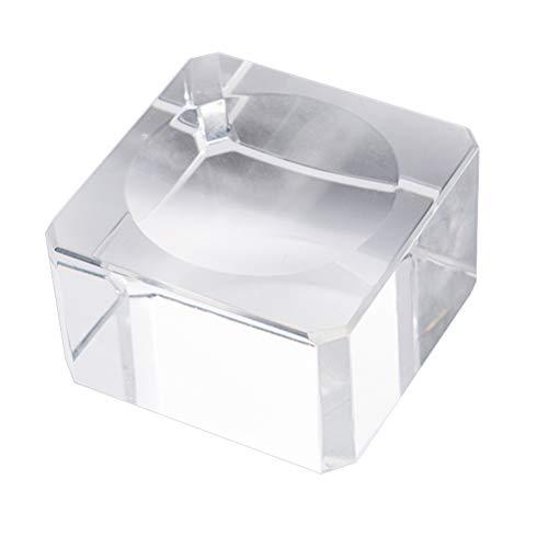 BESPORTBLE Kristallkugel-Standplatz-freier pädagogischer Kugel-Modell-Halter-Glaskugel-Unterseiten-Standplatz mit der Wölbung konkav für Anzeige