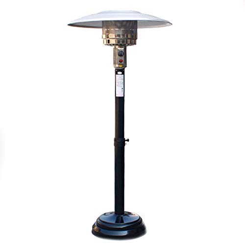 Review Of AIMCAE Patio Heater Umbrella-Shaped Natural Gas Heating Stove with Moving Wheels for Outdo...
