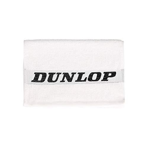 Dunlop Handtücher Handtuch (35x90 cm) Tennis Handtuch Weiß