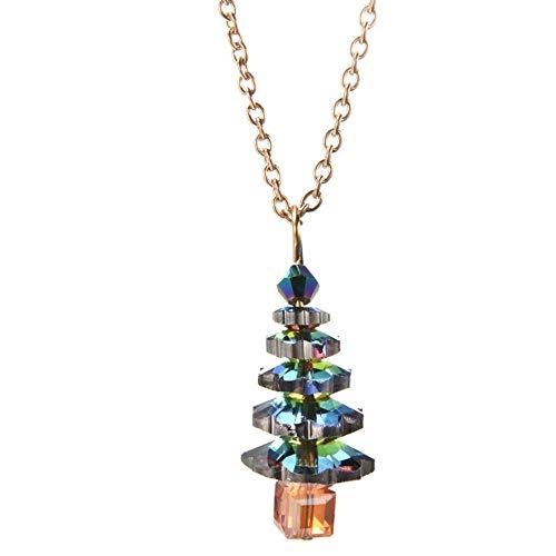 sufengshop Baum-hängende Halsketten-Frauen-Mädchen-Nette Schmucksache-Geschenke