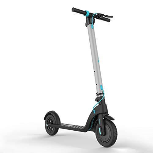 H-CAR QW Patinete Eléctrico Adultos, Pantalla LCD, 3 Modos de Velocidad, Velocidad...